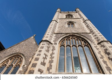 St Laurence's Church in Reading, UK.
