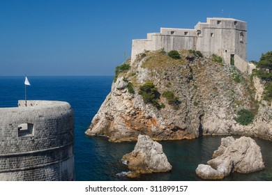 St. Lawrence Fortress in Dubrovnik, Croatia