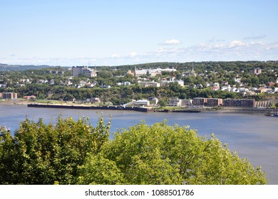 St. Lawrence River in Quebec City, Quebec, Canada.