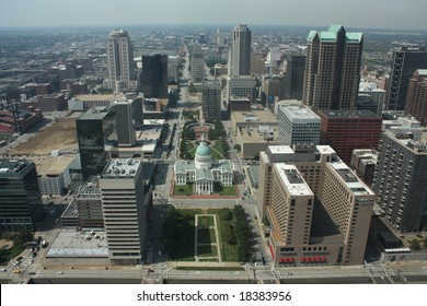 St. louis from the arch