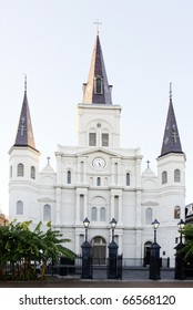 St Louis Cathedral in Jackson Square, New Orleans, Louisiana