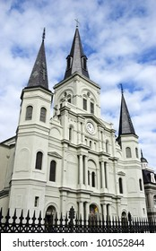 St. Louis Cathedral, New Orleans French Quarter, Louisiana