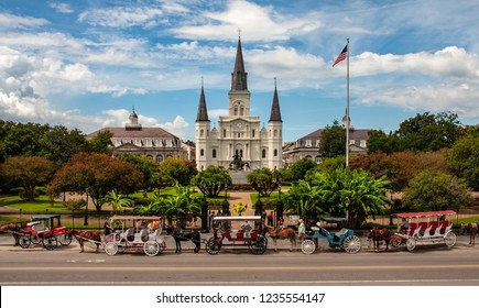 St Louis Cathedral in New Orleans