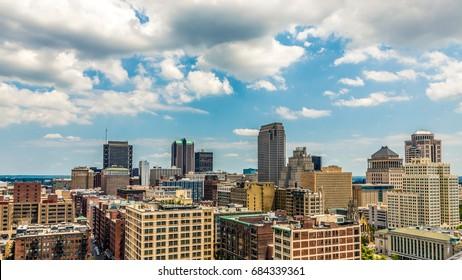 St. Louis, Missouri cityscape