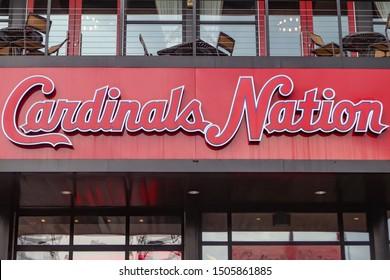 St. Louis Missouri June 21 2019  cardinal nation sign the Day Albert Pujols returns to Bush stadium. After 8 years
