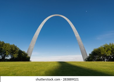 ST. LOUIS, MISSOURI - MAY 27: Gateway Arch on May 27, 2015 in St. Louis, Missouri