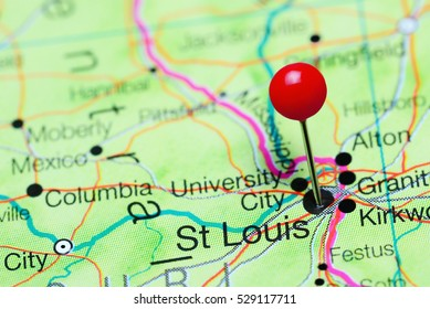 st louis missouri map Stock Photos, Images & Photography | Shutterstock