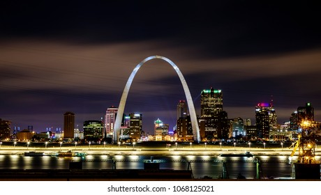 St Louis Skyline at Night