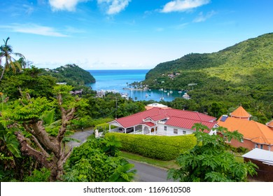 St Lucia in the caribbean, is Helen of the west.Marigot Bay