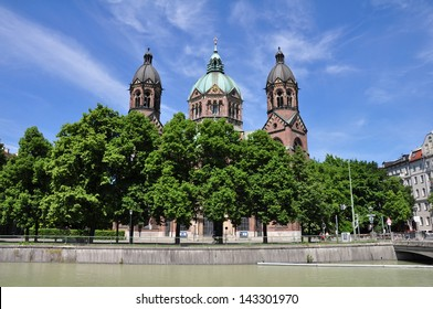 St. Lukas church (Lukaskirche), Munich, Germany