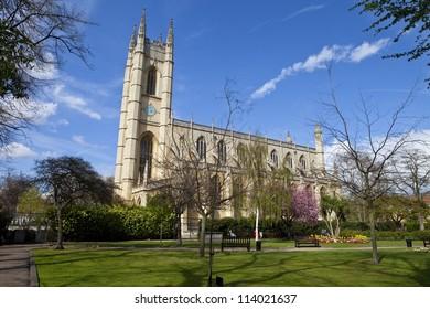 St. Luke's Church in Chelsea, London.