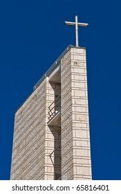 St. Madonna del Carmine Belltower. Sannicandro di Bari. Apulia.