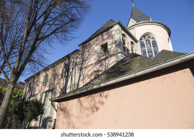 St. Maria Lyskirchen, Blick von Osten gothic church in Cologne Germany
