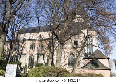 St. Maria Lyskirchen church on Dec 4, 2016 in Cologne Germany