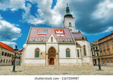 St Mark's Church, Zagreb (Croatia)