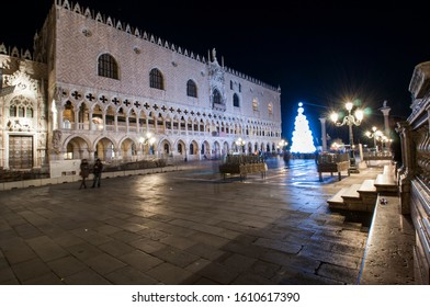 St Mark's Square and St Mark's church in Venice Island
