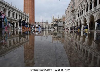 St Mark's Square Venice, Veneto region/Italy - 10.27.2018