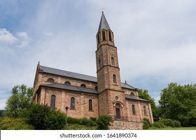 St. Martin Church in Bad Saeckingen in the Black Forest / Germany