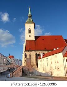 st. martin's cathedral, bratislava slovakia