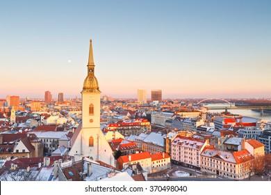 St. Martin's cathedral in Bratislava, Slovakia.