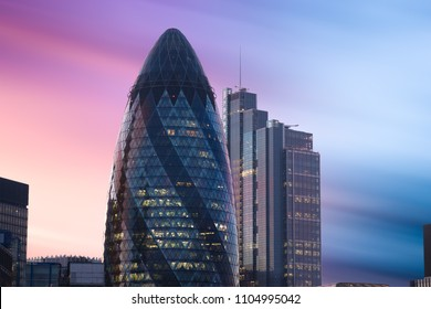 St Mary Axe, london