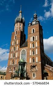 St Mary Basilica - Krakow - Poland