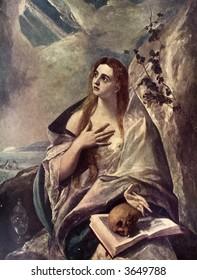 st. mary of magdalen - el greco
