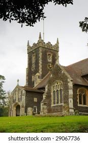 St Mary Magdalene church on the Royal Sandringham estate in Norfolk