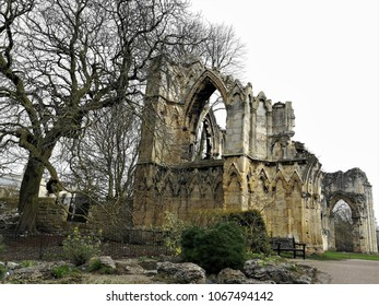 St Mary's Abbey, Museum Gardens, York, England