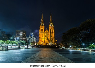 St Mary's Cathedral in Sydney, Australia