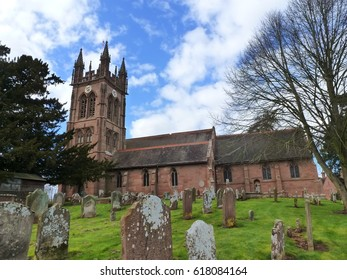 St. Mary's Church, Enville, Staffordshire, England