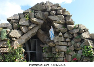 St Mary's Grotto at St Mary's Church on the Claddagh, Galway.