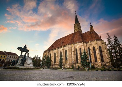 St. Michael Church in Cluj-Napoca, Romania