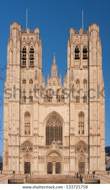 St. Michael and St. Gudula Cathedral in Brussels, Belgium