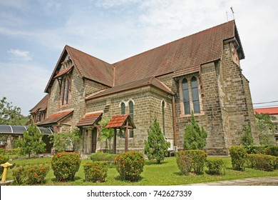 St. Michael's and All Angels Church (St. Michael) - Anglican church in the Malaysian city of Sandakan, state of Sabah, Northern Borneo