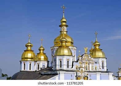 St. Michael's Cathedral in Kiev, Ukraine. Build time - XII century.