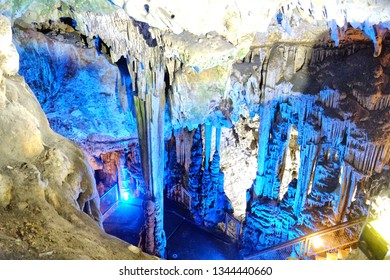 St. Michaels Cave or Old St. Michaels Cave is the name given to a network of limestone caves located within the Upper Rock Nature Reserve in the British Overseas Territory of Gibraltar