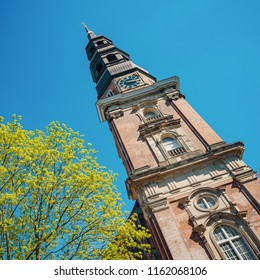 St. Michael's Church - the famous protestant church of hanseatic Hamburg city, Germany