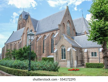 St. Michaels church in Oudewater, Netherlands.