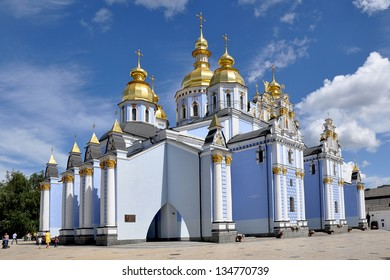 St. Michael's Golden-Domed Monastery at Kiev (Ukraine)