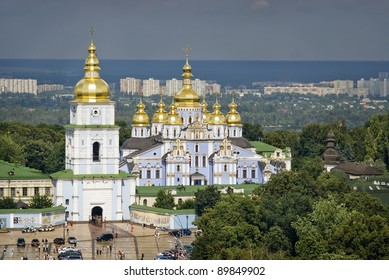 St. Michael's Golden-Domed Monastery in Kiev, Ukraine