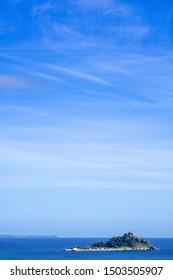 St Michaels mount cornwall england uk