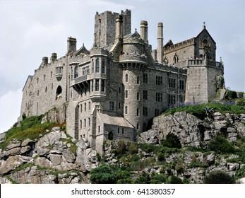 St. Michael's Mount Cornwall UK Castle