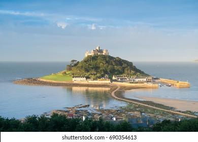 St Michael's Mount in Cornwall UK