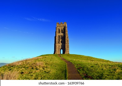 St Michaels Mount, Glastonbury Tor