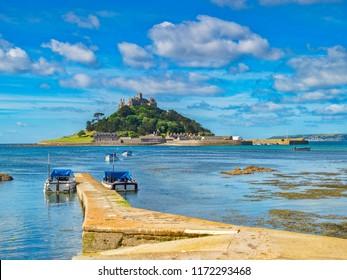 St Michael's Mount Marazion Cornwall UK