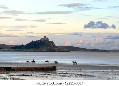 St Michael's Mount and Riders - Cornwall UK