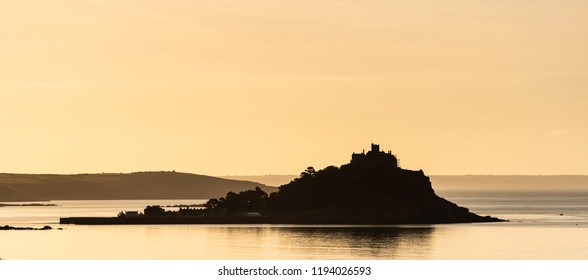 St Michael's Mount shortly after dawn