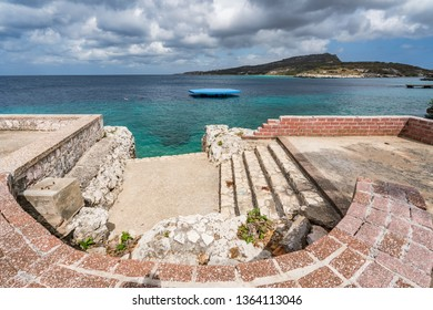 St Michel Beach  views around the small Caribbean isalnd of Curacao