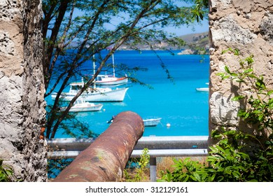 St Michel Fort -  Curacao ( Dutch Antilles)  an island in the Caribbean Ocean